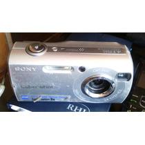 Cámara Fotográfica Sony Cyber Shot 4.1 Mega Pixels.