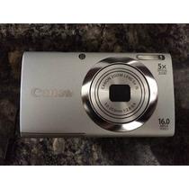 Cámara Digital Canon Powershot A 2400 Is 16 Mp Como Nueva