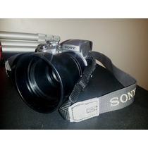 Combo Cámara Fotográfica Sony Y Tripode 1,20mt