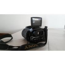 Cámara Fotográfica Sony + 2 Camaras De Video
