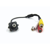 Camara Seguridad Cctv En Tornillo A Color Audio Sony Espia