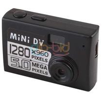 Mini Camara 5 Megapixel Miniatura Webcam Grabador Recargable