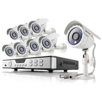 Kit Camaras Seguridad Dvr 8ch 8cam Cctv Combo Hdd 500gb