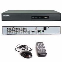 Solo Hikvision Dvr 7216hwi-sh 16 Canales Wd1 1audio 2 Discos