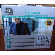 Kit Nvr 4 Canales Ip Profesional Digiplex
