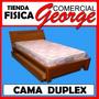 Cama Duplex Con Baul - Comercial George -tienda Fisica