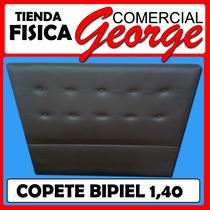 Copete En Bipiel Tamaño Matrimonial 1.40mts-comercial George