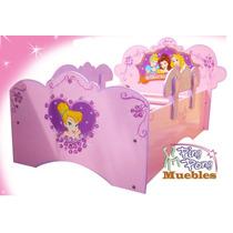 Camas Individuales Para Niñas , Princesas,barbye.