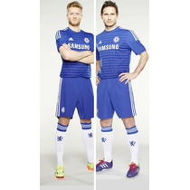 Uniforme Conjunto Chelsea Local 2014-2015