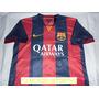 Camiseta Barcelona Fc Local 2014-2015 Messi Neymar