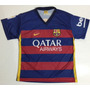 Franela Camiseta Fútbol Barcelona Modelo Nuevo Todas Tallas