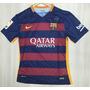 Camisetas Local Fc Barcelona 100% Originales 2015-2016