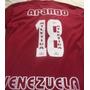 Camisa Franela Vinotinto Juan Arango Venezuela