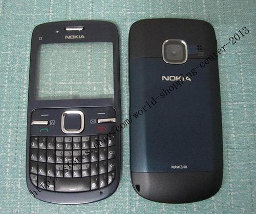 Nokia c3 Carcasa Intercambiable Carcasa Nokia c3 C3-00 Negra
