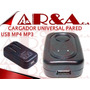 Cargador Universal Pared Usb Mp4 Mp3 Generico Oferta