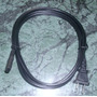 Cable De Corriente 1,65 Mts Para Laptop Mini Laptop Radio Tv