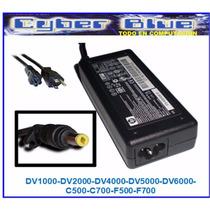 Cargador Hp Original Dv1000 Dv2000 Dv5000 Dv6000 C500 C700