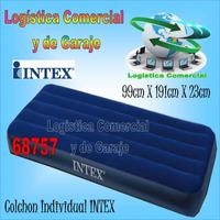 Colchon Inflable Para Camping O Casa Intex Sin Bomba 68757
