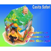 Casita De Juego Safari Intex Para Niños