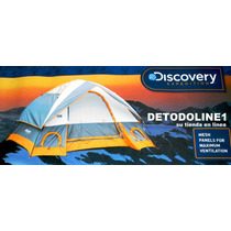 Carpa Para 4 Personas Modelo Kibo Discovery Expedition