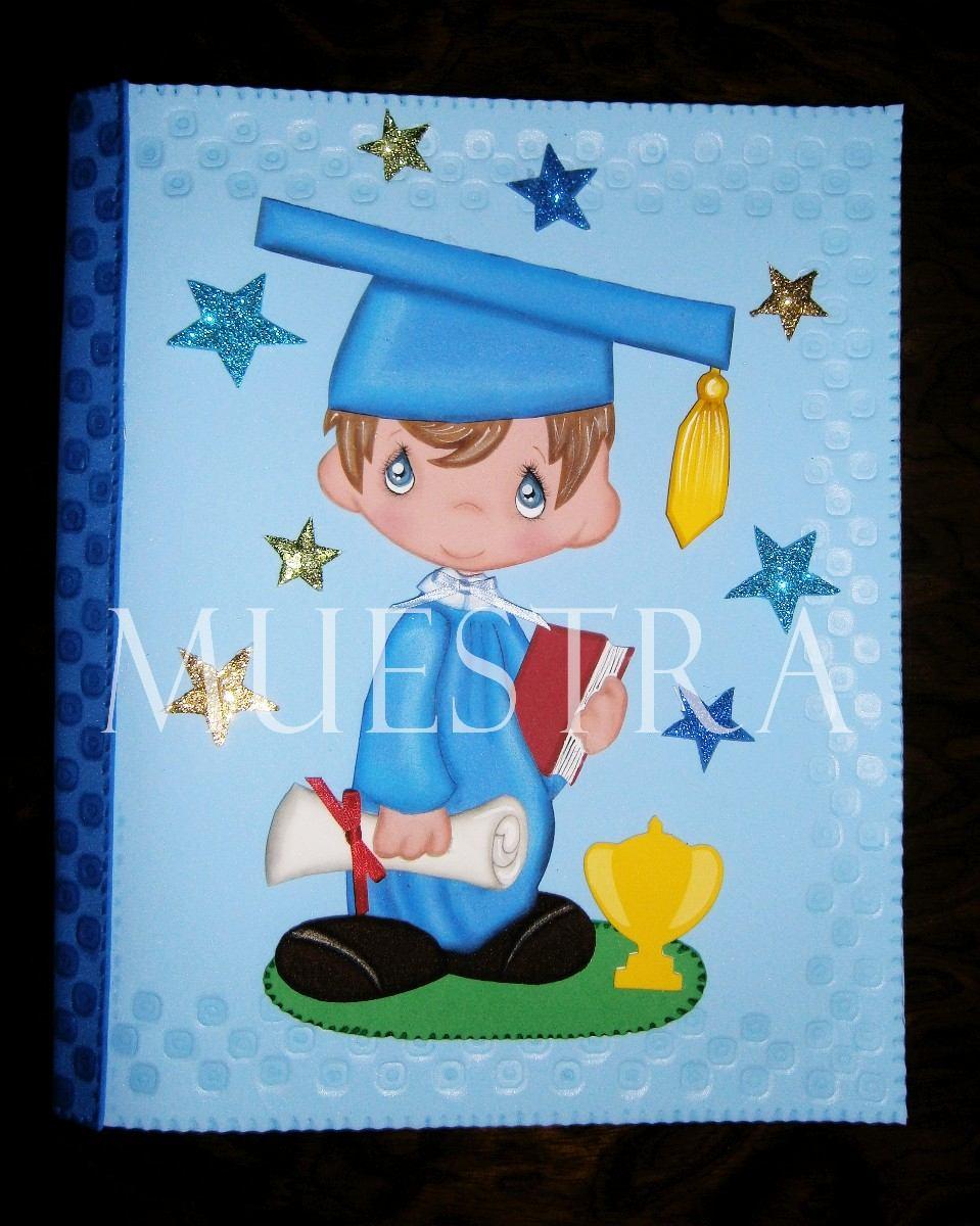 Carpetas Y Maletines Graduación Niños Niñas Graduados Foami - BsF ...