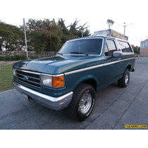 Ford Bronco Xlt - Automatico