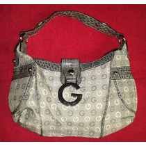 Cartera Guess Original / Estampado Gris