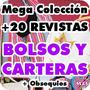 Mega Colección Revistas Patrones Moldes Bolsos Carteras Y +
