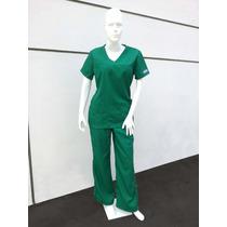 Uniforme Medico Dama Verde Quirúrgico