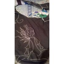 Bolso Reversible, Telas: Blue Jeans E Impermeable.
