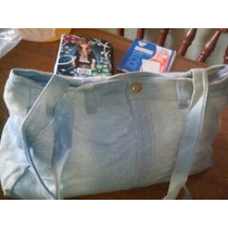 Bolso Casual De Jeans, Ideal Para Clases