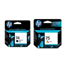 Cartucho Hp 74 Y 75 Originales En Combo