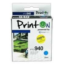 Cartucho Printon Compatible Con Hp 940 Cyan 300% + Rendimien
