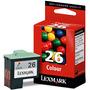 Cartucho Lexmark 26 Tricolor Original En Caja Somos Tienda