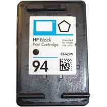 Cartucho Negro Hp 94, Regenerado, Listo Para Imprimir