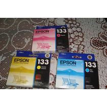 Combo Epson 133 Tricolor