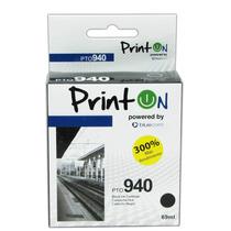 Printon Cartucho Compatible Con Hp #940, Negro Pto9402n