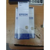 Botella Epson De Tinta Black (negro) T6641 70 Ml Para L200