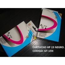 Cartucho De Impresora Hp 15 Negro