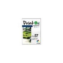 Cartucho Printon Genericos 57 Color Compatible Con Hp