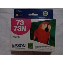 Cartuchos Epson 73n Magenta Rojo Original