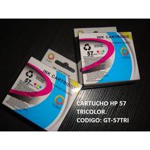 Cartucho De Impresora Hp 57 Tricolor