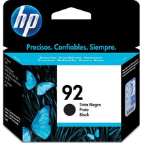 Cartucho Hp 92 Negro (c9362wl) 100% Original