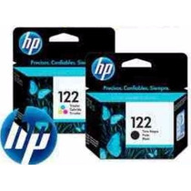 Cartuchos Hp 122 Negro Y 122 Color En Combo