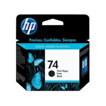 Cartucho100 % Original Hp 74 Negro Cb335wl