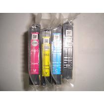 Cartuchos Iniciales Epson 195 Los 4 Colores