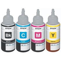 Tinta Original Epson Colores T664220 / T664320 / T664420