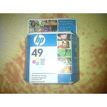 Cartucho De Impresora Hp 49 Nuevo Y Original En Buen Estado