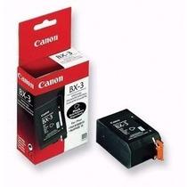 Cartucho Original Canon Negro Bx-3
