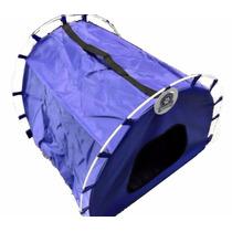 Casa De Perros T/carpa Mini Colchoneta Mascotas 50x47x39cm